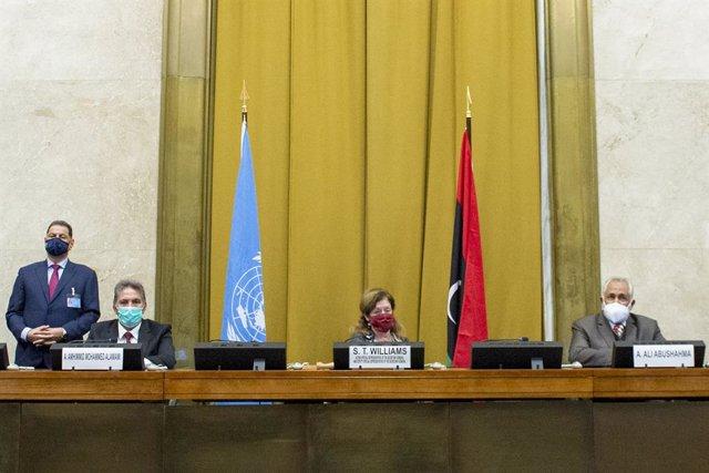 Libia.- Arranca por videoconferencia el foro de diálogo político tras el acuerdo
