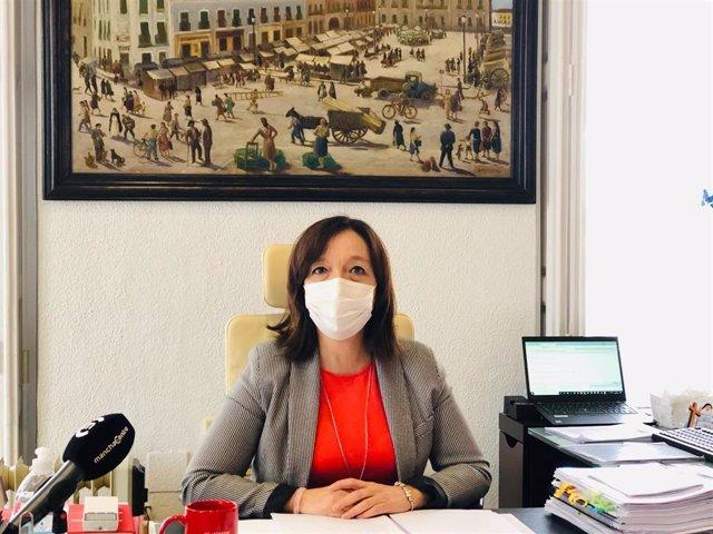 La alcaldesa de Alcázar de San Juan, Rosa Melchor.