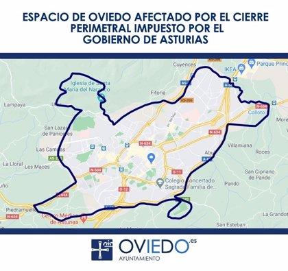 Oviedo y Gijón solicitan que el cierre perimetral afecte a todo el concejo