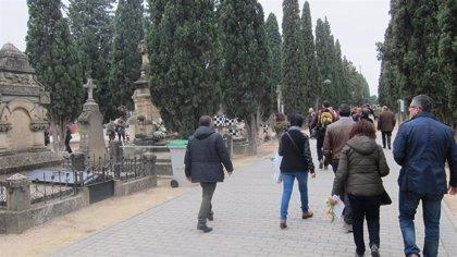 La web del Ayuntamiento de Zaragoza ofrece, en tiempo real, el aforo del cementerio de Torrero