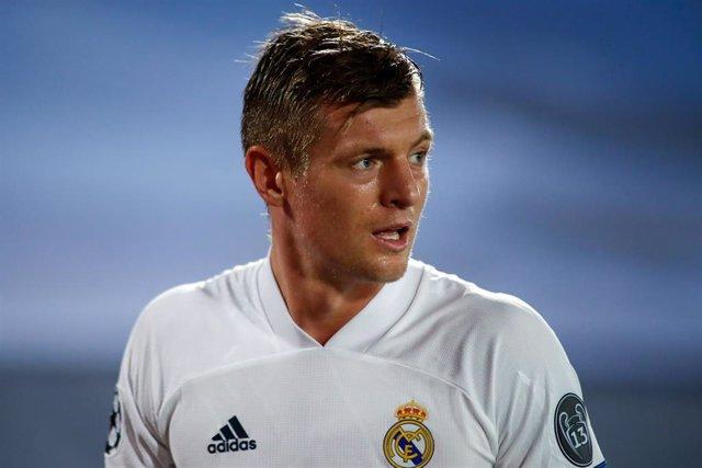 El centrocampista del Real Madrid Toni Kroos