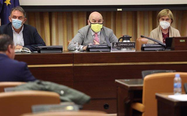 el Presidente del Comité Español de Representantes de Personas con Discapacidad (CERMI), Luis Cayo Pérez Bueno