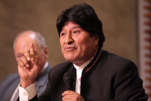 Bolivia.- Morales avanza el 11 de noviembre como fecha para su vuelta a Bolivia