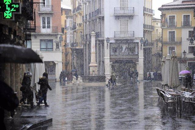 Teruel, bajo la nieve