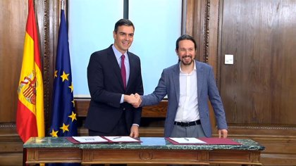 PSOE y Podemos logran un acuerdo para aprobar el borrador de PGE