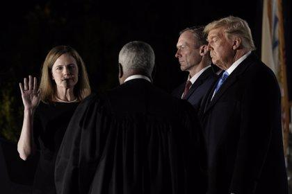 El Senado de EEUU confirma a la jueza Amy Barrett y asegura así la mayoría conservadora en el Supremo