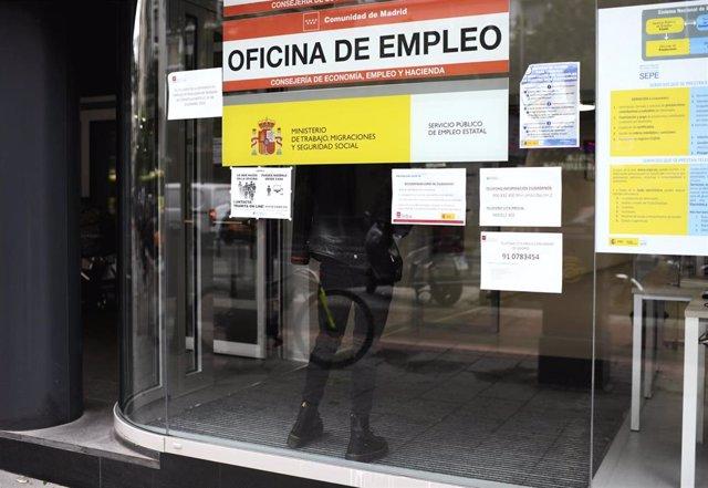Oficina de Empleo en Madrid (España)