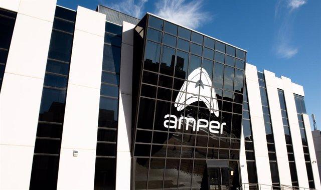 Economía.- Amper sube casi un 8% en Bolsa tras lograr un contrato con Green Powe