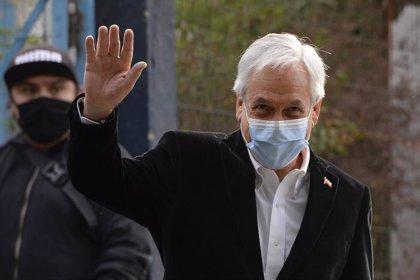 Chile.- Piñera apela a la unidad de su coalición para influir en la redacción de la nueva Constitución