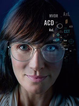"""With its innovative """"B.I.G. Vision for all"""" philosophy, Rodenstock, as the first lens manufacturer, makes possible the precise measurement of each eye and manufactures the most precise Biometric Intelligent Glasses on the market using the extensive data"""