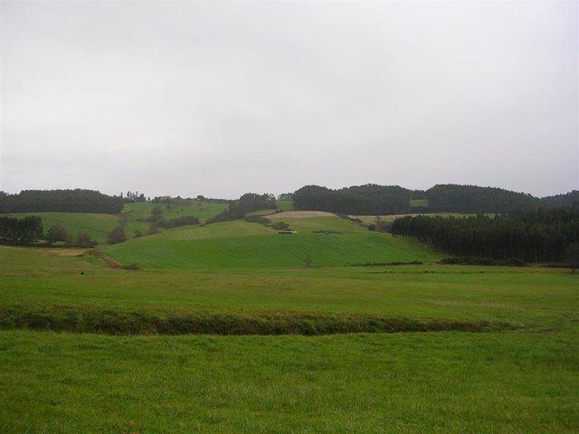 Espacio en el que está previsto instalar la subestación.