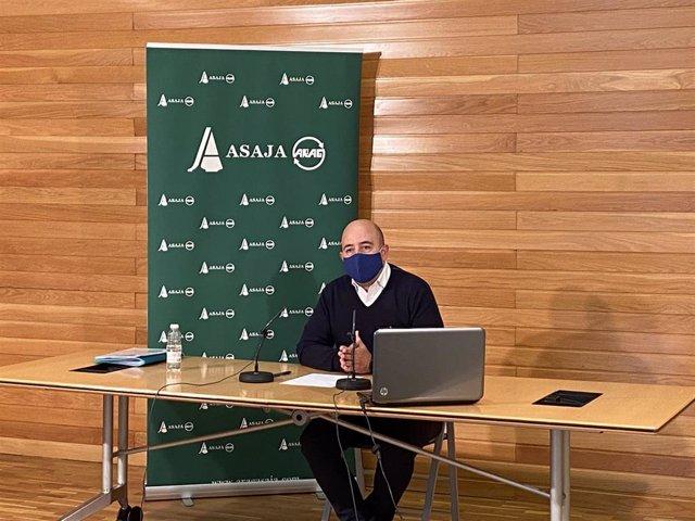 El secretario general de ARAG-ASAJA, Igor Fonseca