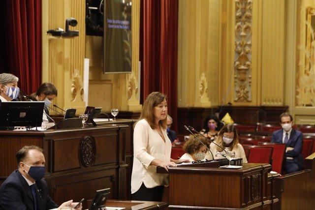 Discurso de la presidenta del Govern, Francina Armengol, en la primera jornada del Debate de Política General.