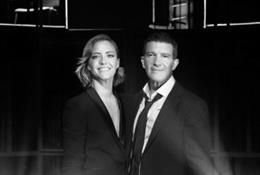 María Casado y Antonio Banderas
