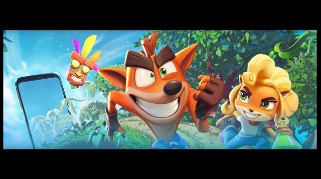 Crash Bandicoot llegará a los móviles de la mano de King en primavera de 2021