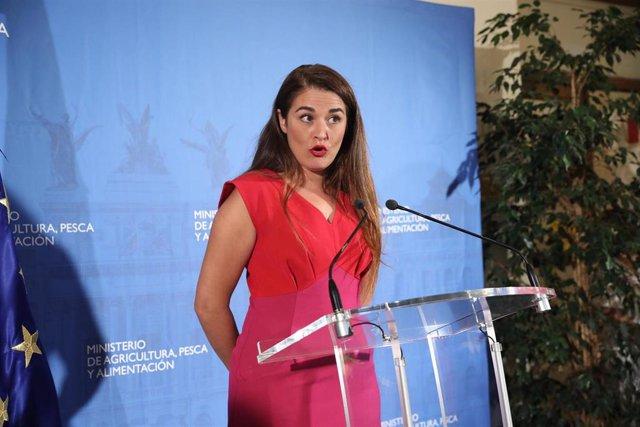 La consellera de Agricultura, Desarrollo Rural, Emergencia Climática y Transición Ecológica de la Generalitat valenciana, Mireia Mollà