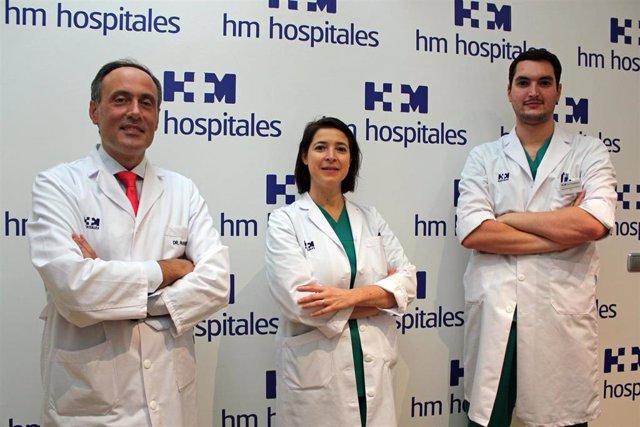 Equipo de Otorrinolaringología del Hospital HM Rosaleda