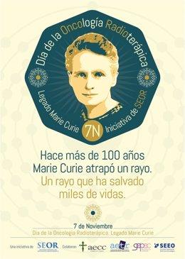 La SEOR quiere fijar el 7 de noviembre como Día de la Oncología Radioterápica en España en homenaje a Marie Curie.