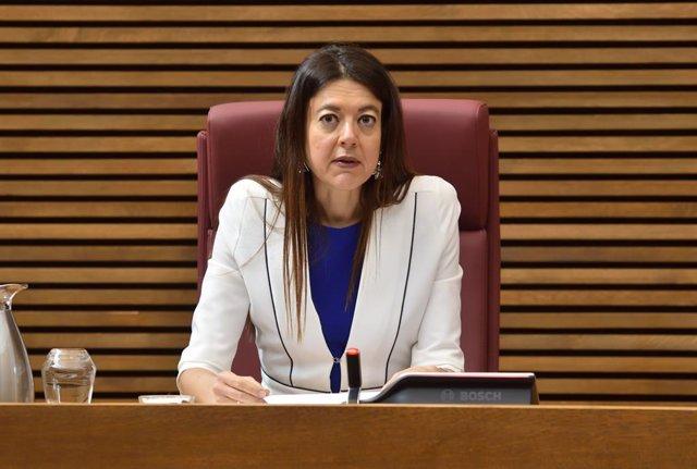 Carolina Pascual en una imagen de archivo