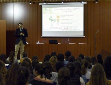 El Proyecto Edufinet de Unicaja inicia en formato web las XII Jornadas de Educación Financiera para Jóvenes