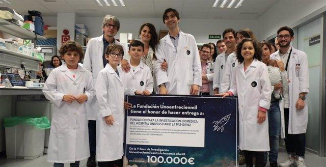V Beca de Investigación de la Fundación Unoentrecienmil.