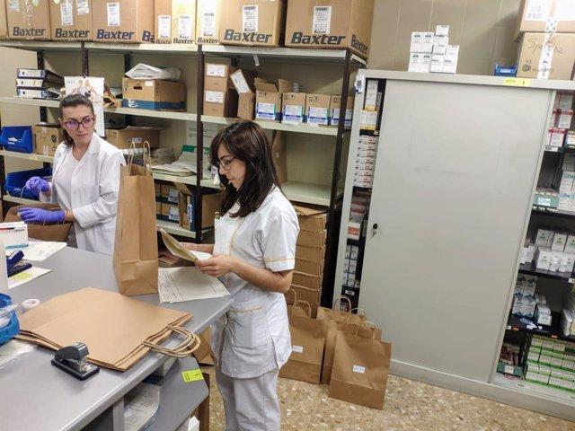 El Hospital Costa del Sol pone en marcha un servicio temporal de dispensación delegada de medicación hospitalaria a domicilio