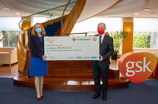 """GSK Consumer Healthcare se suma al Plan Cruz Roja RESPONDE entregando más de 69.000€ de su campaña solidaria """"Recuperando sonrisas"""""""