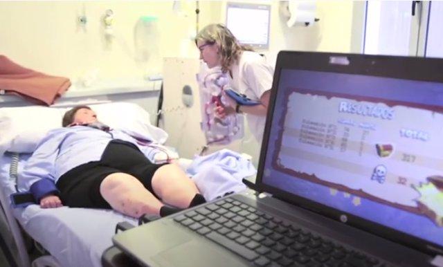 Realidad de virtual ejercicio de diálisis del CEU-UCH/Hospital de Manises