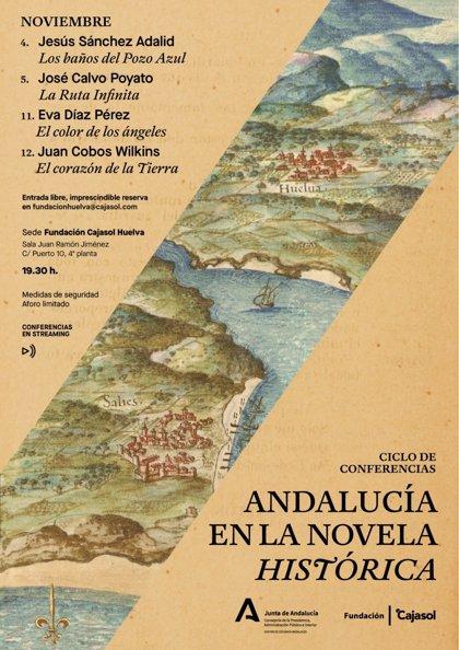 Cajasol.- Huelva acoge el ciclo de conferencias 'Andalucía en la novela histórica'