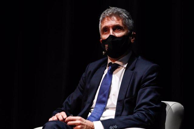 El ministre d'Interior, Fernando Grande-Marlaska. Madrid (Espanya), 26 d'octubre del 2020.
