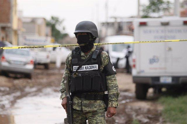 México.- Detenidos seis efectivos de la Guardia Nacional de México por la muerte