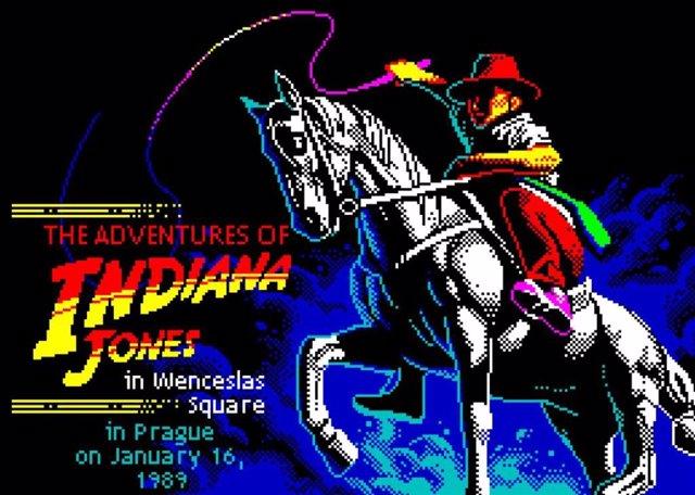 Indiana Jones en la Plaza de Wenceslao: lanzan en la web el juego que apoyaba pr