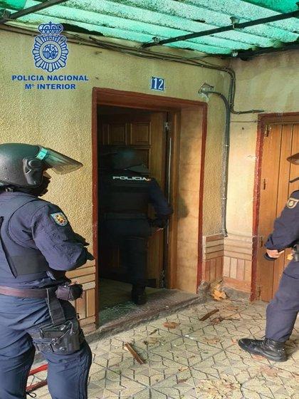 Policía Nacional desmantela un punto de venta de droga en Tudela y detiene a dos personas