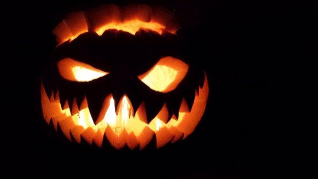 Imagen de archivo de una calabaza de Halloween