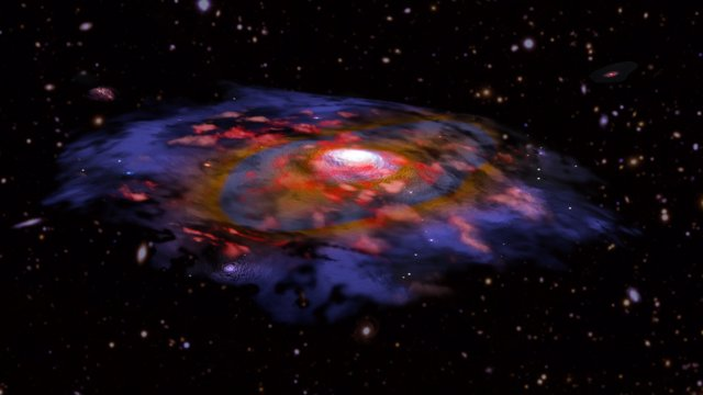 Las galaxias del universo temprano eran sorprendentemente maduras