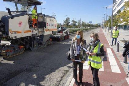 El Ayuntamiento inicia las obras de mejora del pavimento de la avenida del Conocimiento