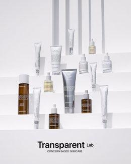 Gama completa de Transparent Lab