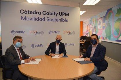 La UPM y Cabify crean una cátedra de tecnologías inteligentes para impulsar la movilidad sostenible