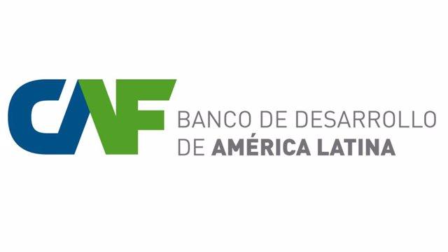 Logo del banco de desarrollo de América Latina CAF