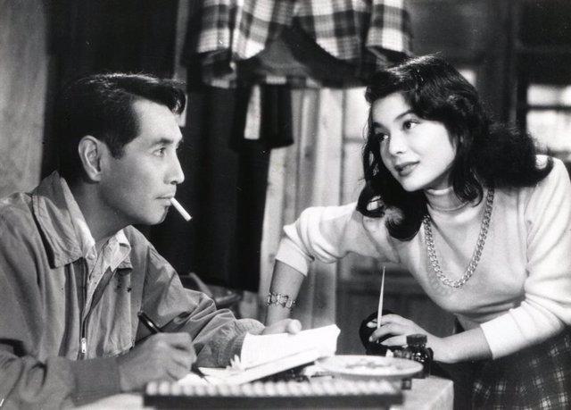 Fotograma de la pel·lícula 'Koibumi' ('Carta d'amor'), primera pel·lícula dirigida per Kinuyo Tanaka el 1953.