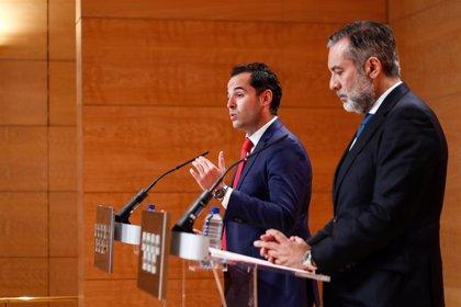 López recuerda a Aguado que la autoridad delegada por el estado de alarma es Ayuso y ella decidirá si perimetrar Madrid