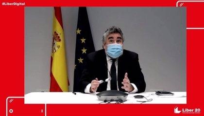"""Rodríguez Uribes sitúa los PGE como """"punto de partida"""" para un Pacto por el Libro"""