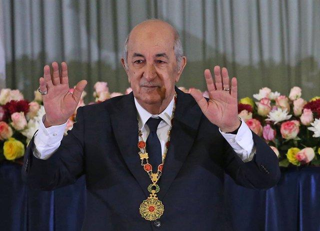 """Coronavirus.- Hospitalizado el presidente de Argelia tras su """"aislamiento volunt"""