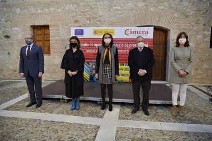 """Maroto agradece en Ciudad Real a comerciantes que levantan la persiana diariamente porque """"con ellos se construye país"""""""