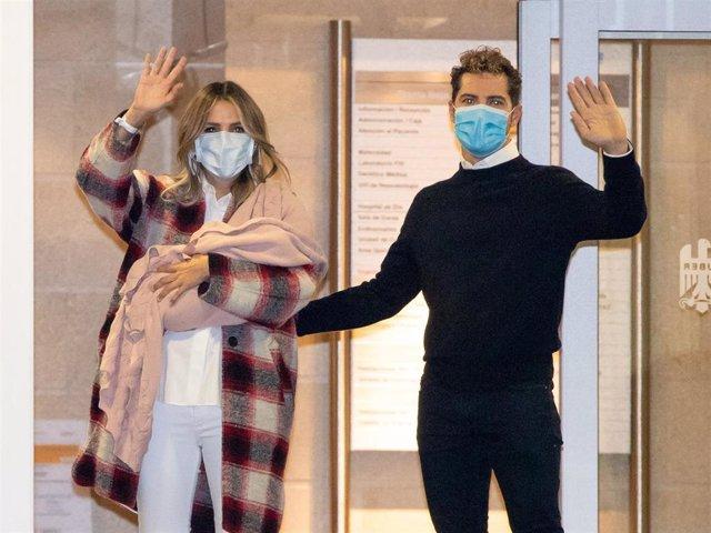 Rosanna Zanetti y David Bisbal salen del hospital