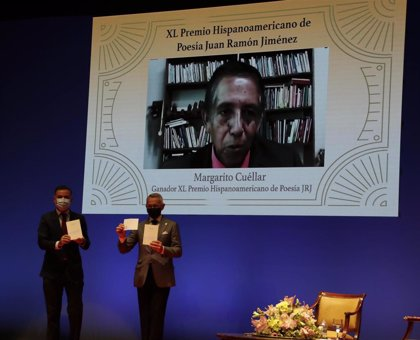 El mexicano Margarito Cuéllar recibe en Moguer el XL Premio Juan Ramón Jiménez de Poesía por 'Nadie, salvo el mundo'