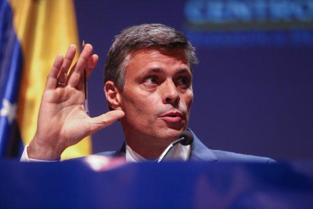 AMP.- Leopoldo López dice que Venezuela será libre por la fuerza de los venezola