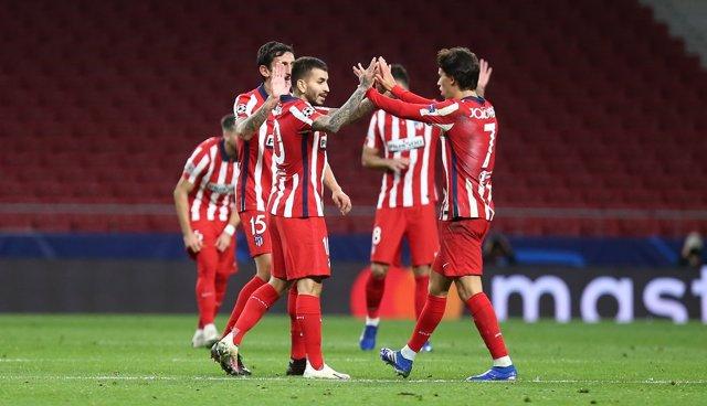 Fútbol/Champions.- Crónica del Atlético de Madrid - Salzburgo: 3-2