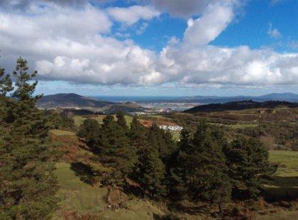 Nubes y muy poca precipitación este miércoles en Euskadi, con máximas de 18 grados