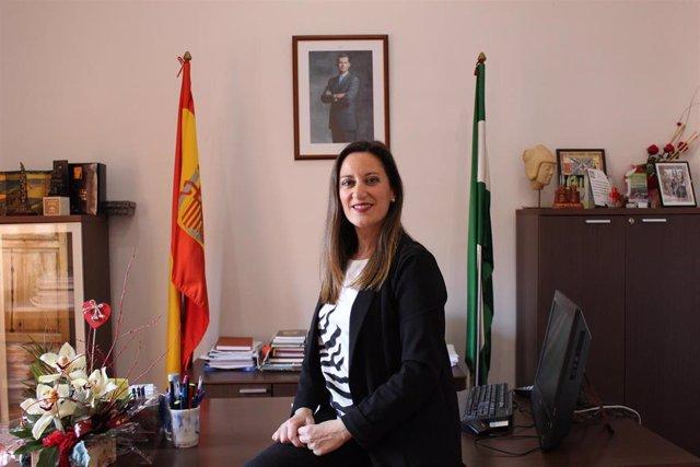 La alcaldesa de La Carolina (Jaén) , Yolanda Reche.